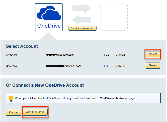 How to sync OneDrive and Google Drive – cloudHQ Support
