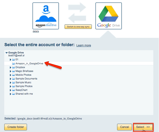 how to update folder in google drive