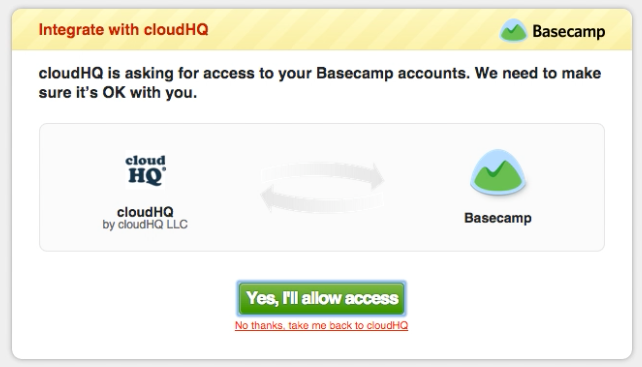 Add Basecamp