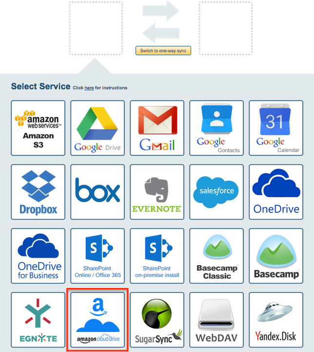 How to sync Amazon Cloud Drive and Box – cloudHQ Support