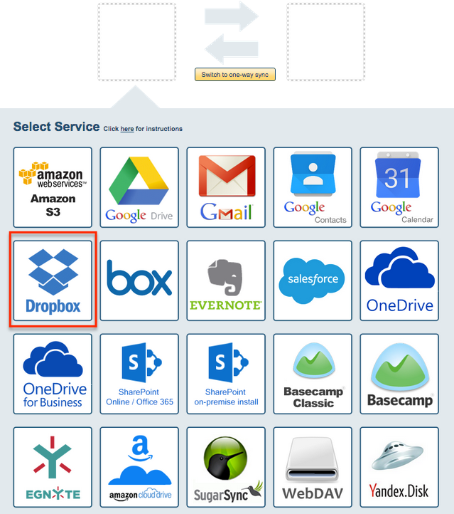 How to sync Dropbox and Box – cloudHQ Support