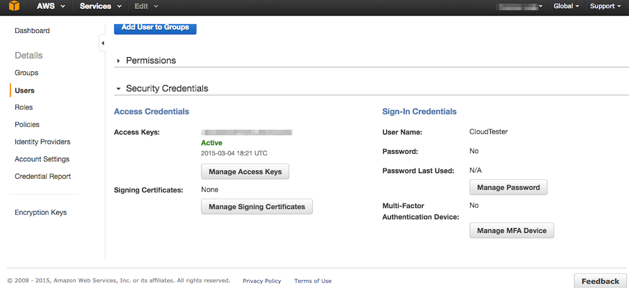 How to figure out your Access Key ID and Secret Key in Amazon S3