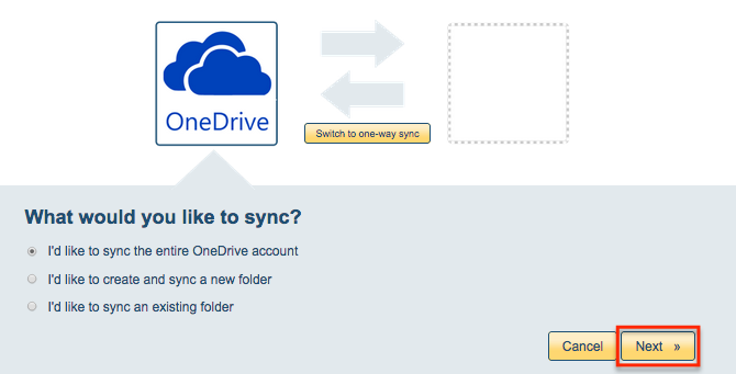 how to add folders to onedrive