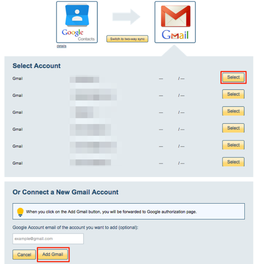 How to back up Google Contacts to Gmail – cloudHQ Support