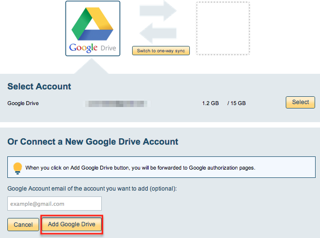 How to backup portion of Google Drive to OneDrive – cloudHQ