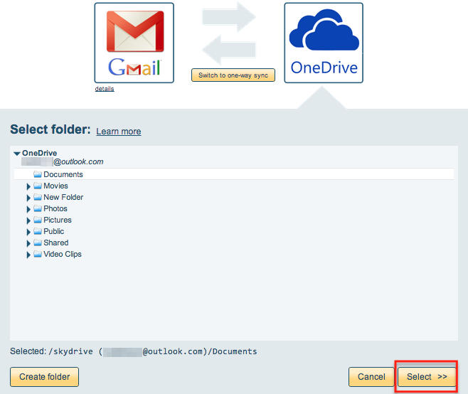 how to create folders for gmail