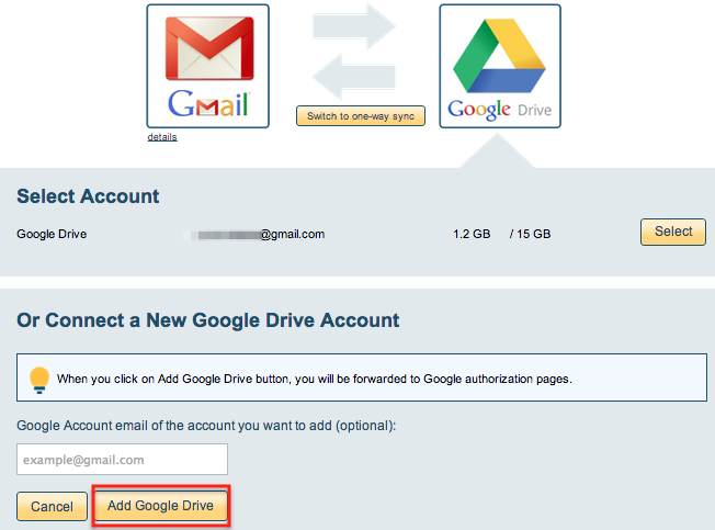 Google Drive account