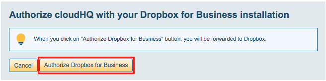 Dropbox for Business domain