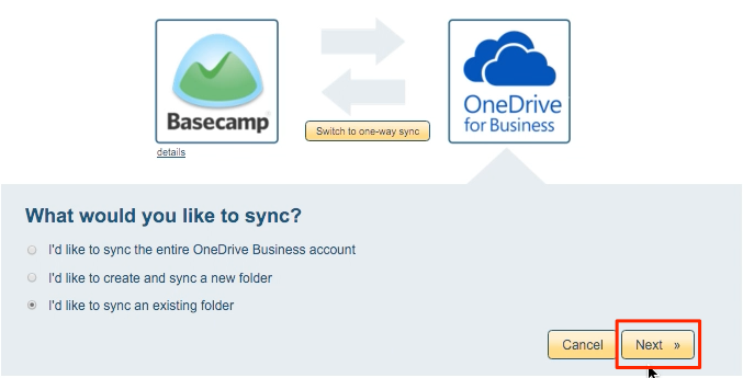 OneDrive Business folder