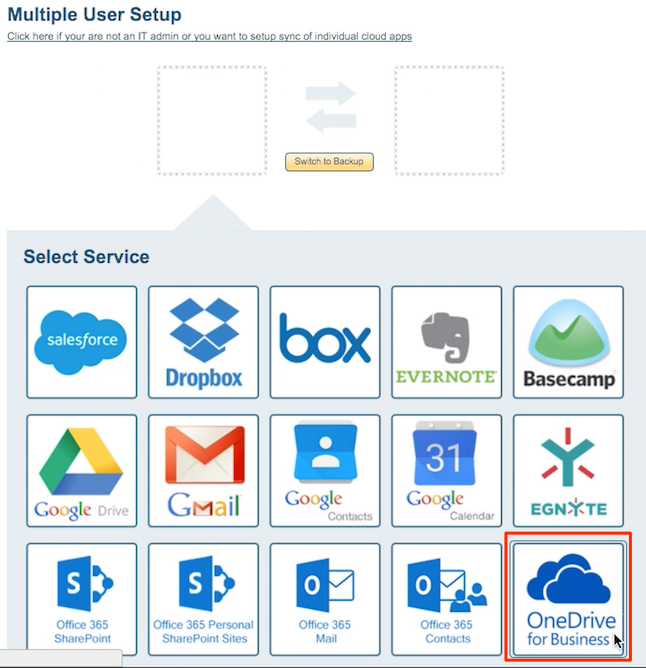 IT Admin: How to backup OneDrive for Business to Google Apps