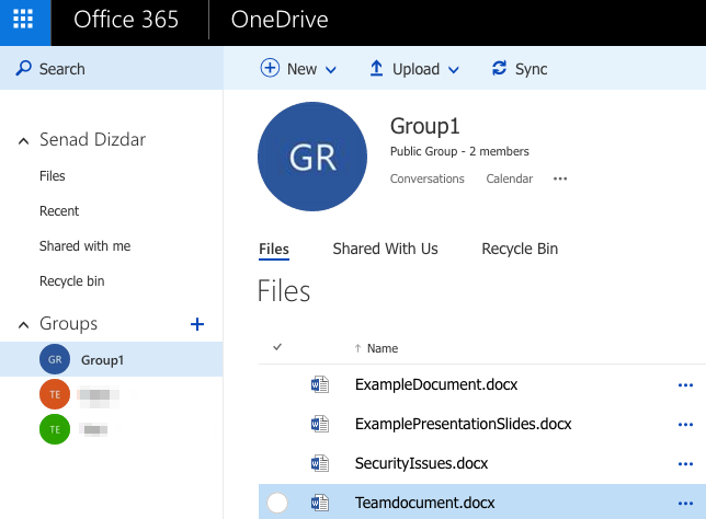 Office365 Groups