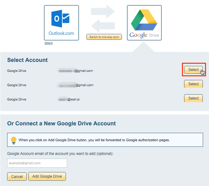 how to add second email acccount folder to outlook