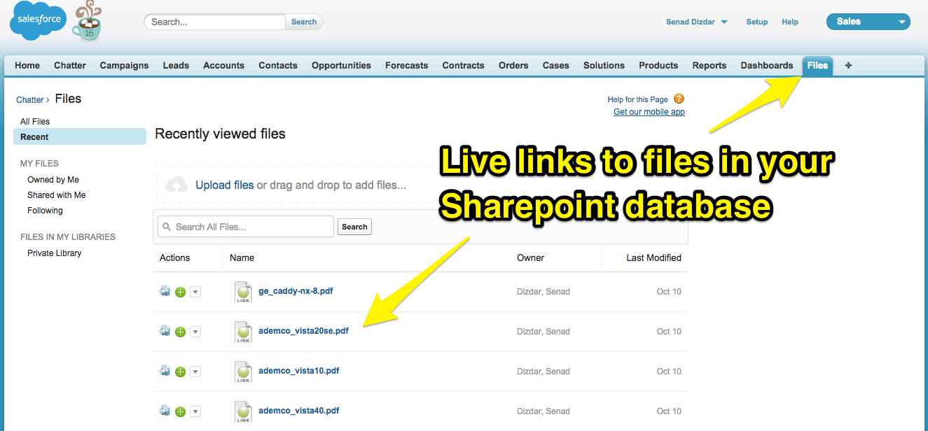 How to integrate Salesforce and Office 365 SharePoint – cloudHQ Support