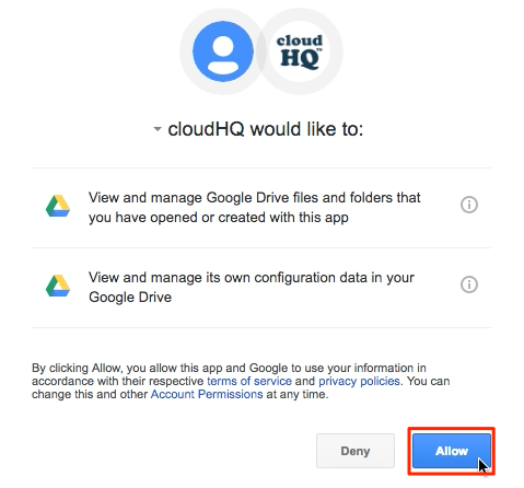 How to sync Google Drive and Box – cloudHQ Support