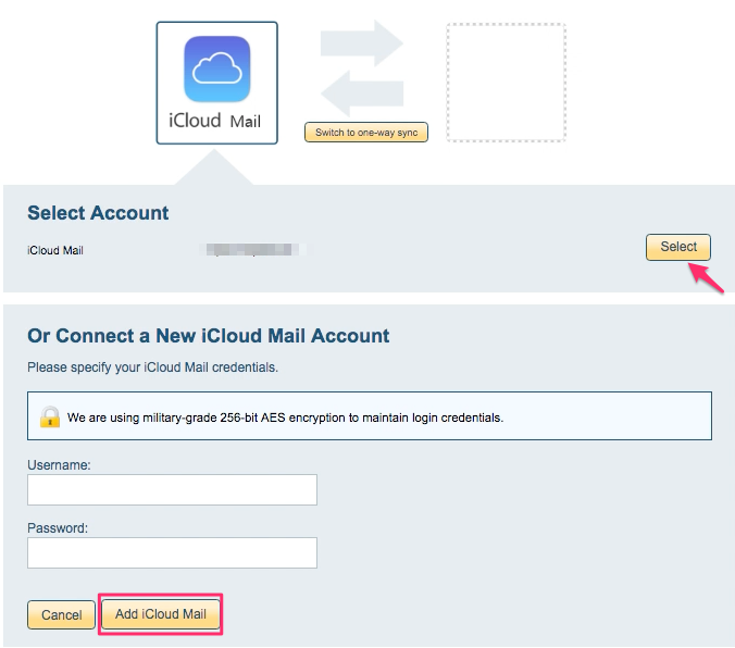 How to delete icloud from email account