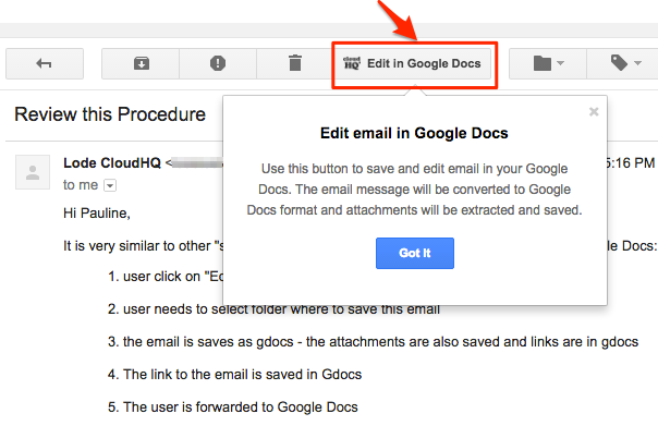 How To Edit Emails In Google Docs CloudHQ Support - How to edit google docs