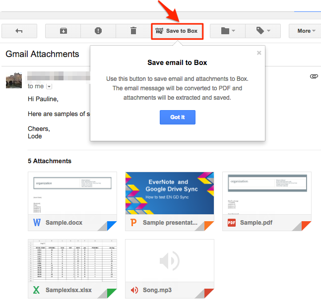 how to download and save google mail