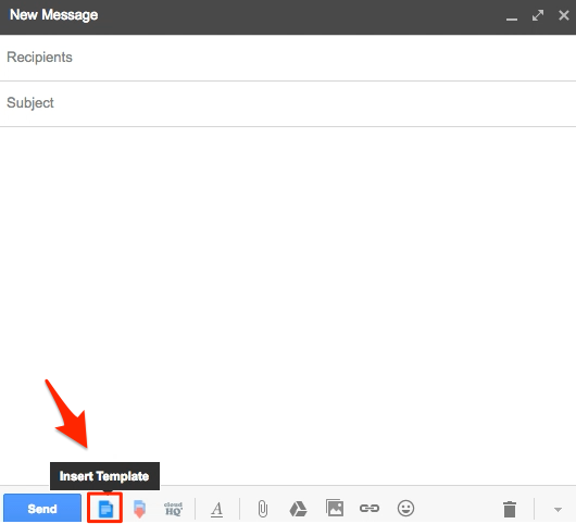 How to create and save Gmail templates inside Gmail composer ...