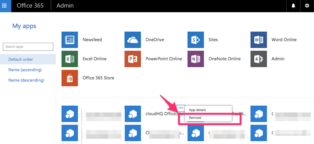 How to delete a managed user's cloud accounts in Business Plan