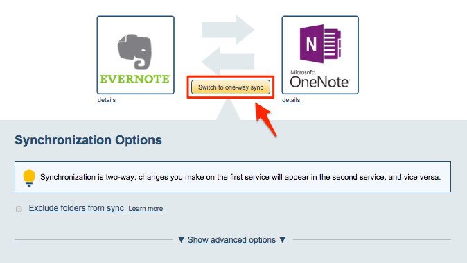How to backup Evernote to OneNote – cloudHQ Support