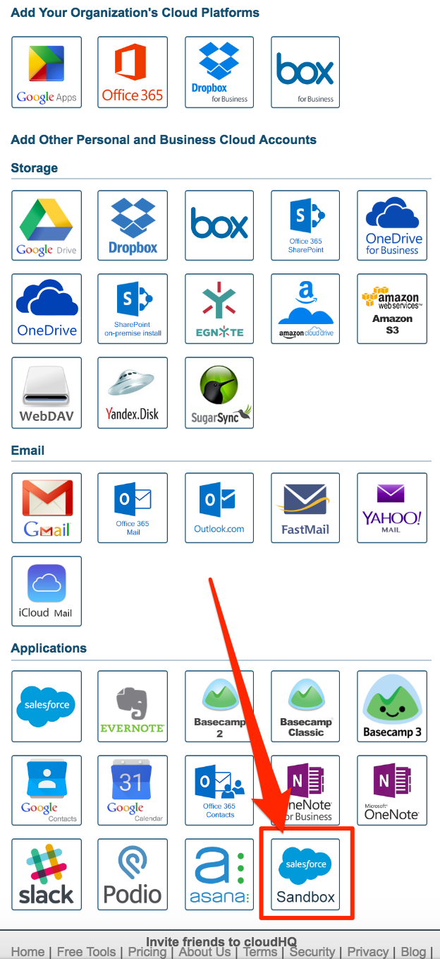 How to authorize Sandbox in Salesforce – cloudHQ Support
