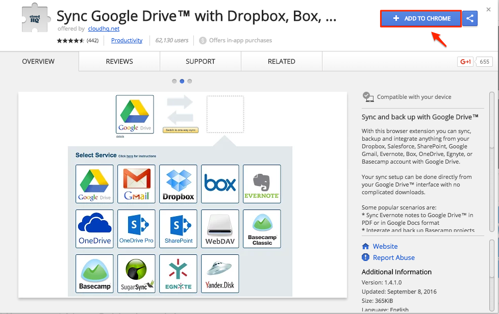 How to save Google Docs to Google Drive using our Chrome