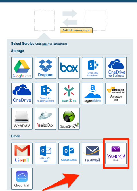 How to sync Yahoo Mail – cloudHQ Support