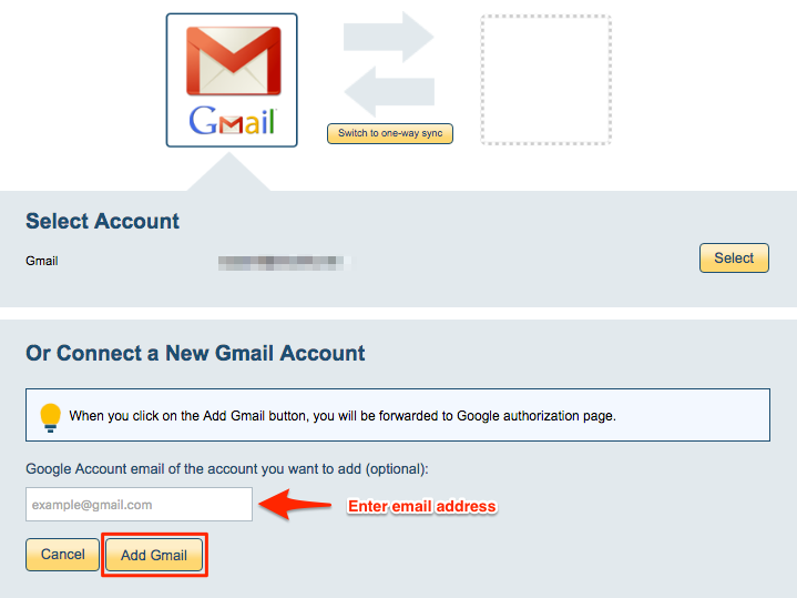 How to sync a Gmail label with another Gmail account – cloudHQ Support