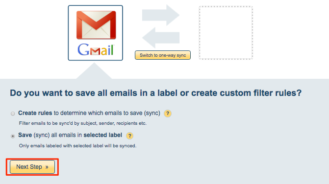 Two-way Gmail