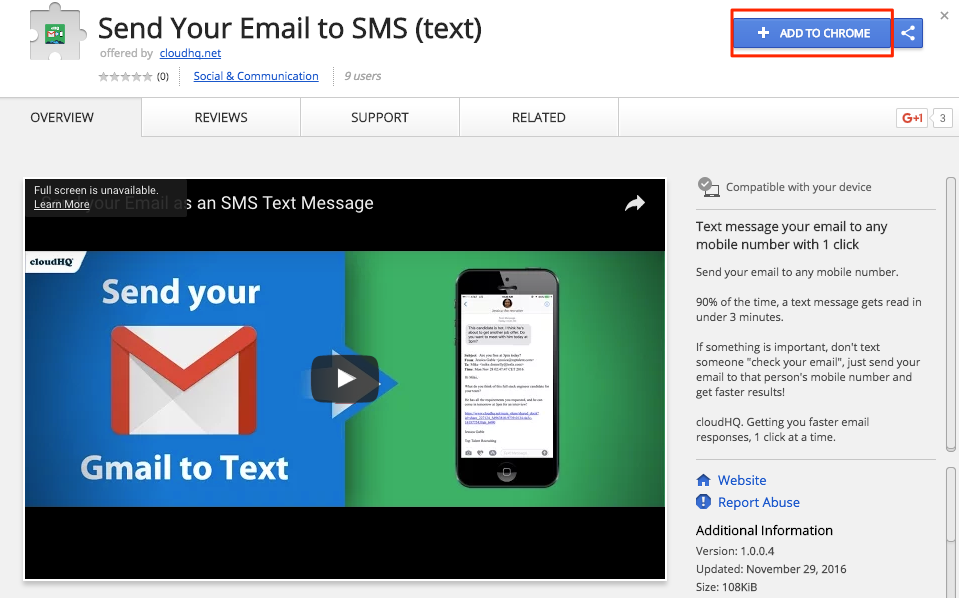 Getting started with Send Email to SMS (How to send (or forward) an