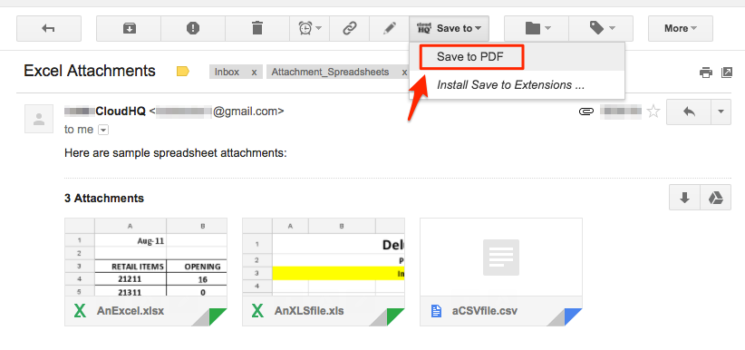How To Email From Gmail As Pdf