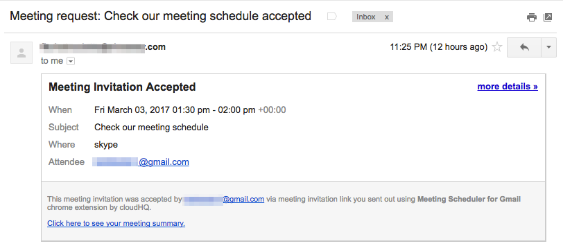 Getting started with Meeting Scheduler for Gmail (How to schedule ...