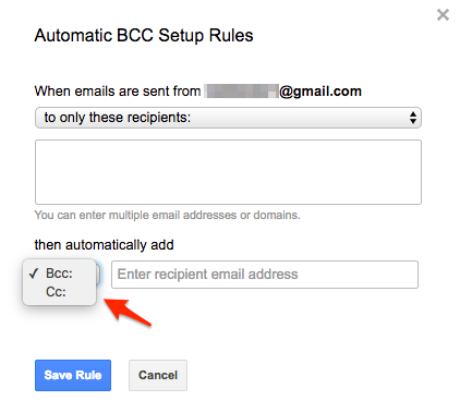 Getting started with Auto BCC for Gmail (How to set up