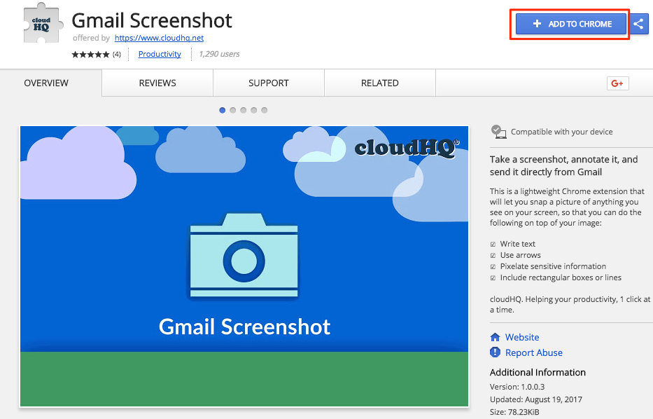 Getting started with Gmail Screenshot (How to send